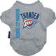NBA Oklahoma City Thunder Dog Tee Shirt X-Large