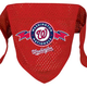 MLB Washington Nationals Mesh Dog Bandana Large