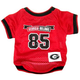 NCAA Georgia Bulldogs Dog Jersey Large