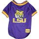 NCAA LSU Tigers Dog Jersey Large
