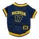NCAA Michigan Wolverines Dog Jersey Large