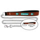 NFL Miami Dolphins Leather Chain Leash LG