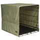 Pet Dreams Sage Plush Crate Cover X-Large