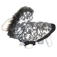 Pet Life Deer Pattern Parka Dog Coat XS