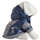 Pet Life Blue Vintage Aspen Dog Ski Coat MD