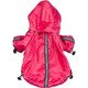 Pet Life Hot Pink Reflecta Sport Rain Jacket MD