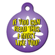 I Must Like You Pet ID Tag Large