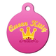Queen Kitty Cat ID Tag