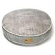 PLAY Savannah Grey Round Dog Bed Large