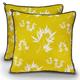 PLAY Bamboo Mustard Pillow Dog Bed