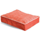 Crypton Dog Eared Persimmon Rect Dog Bed Medium