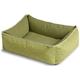 Crypton Loopy Green Bumper Dog Bed Medium