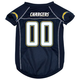 San Diego Chargers Dog Jersey X-Large