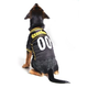 Pittsburgh Steelers Yellow Trim Dog Jersey X-Large
