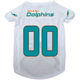 Miami Dolphins Dog Jersey X-Large