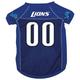 Detroit Lions Dog Jersey X-Large