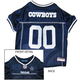 Dallas Cowboys White Trim Dog Jersey X-Large