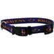 Baltimore Ravens Raven Head Dog Collar Large