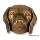 Beagle Dog Head Door Knocker