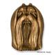 Maltese Dog Head Door Knocker