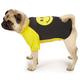 Casual Canine Smiley Face Raglan Dog T-Shirt LG