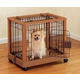 Richell Mobile Pet Pen Small