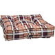 Bowsers Piazza Kensington Plaid Dog Bed Large