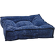 Bowsers Piazza Navy Filigree Dog Bed Large