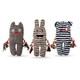 Patchwork Pet Greybar Cronies Dog Toy Freckles