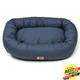 West Paw Cotton Bumper Dog Bed Cobalt XXL