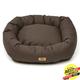West Paw Cotton Bumper Dog Bed Coffee XXL