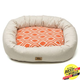 West Paw Cotton Bumper Dog Bed Sunset Groove XXL