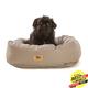 West Paw Cotton Bumper Dog Bed Walnut XXL