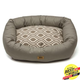 West Paw Cotton Bumper Dog Bed Walnut Groove XXL