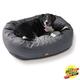 West Paw Hemp Bumper Dog Bed Coal XXL