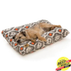 West Paw Pillow Dog Bed Sunset Ikat XXL