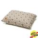 West Paw Pillow Dog Bed Walnut Groove XXL