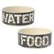 Petrageous Vintage Pet Bowl Water