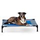 KH Mfg Coolin Gel Gray/Blue Pet Cot Large