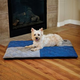 KH Mfg Quilted Memory Blue Dream Dog Pad Large