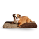 KH Mfg Quilted Memory Tan Dream Dog Bed Large