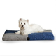KH Mfg Quilted Memory Blue Dream Dog Bed Large