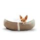 KH Mfg Sleepy Nest Caramel/Fleece Pet Bed Large