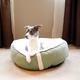 KH Mfg Sleepy Nest Sage/Fleece Pet Bed Large