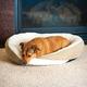 KH Mfg Huggy Nest Green/Tan Pet Bed Large