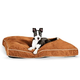 KH Mfg Tufted Pillow Top Chocolate Dog Bed Medium