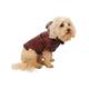 Pet Life Sporty Avalanche Pet Coat Burgundy XL