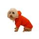 Pet Life Cotton Pet Hoodie Orange LG