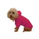 Pet Life Plush Cotton Pet Hoodie Pink LG