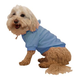 Pet Life French Terry Pet Hoodie Teal Blue LG